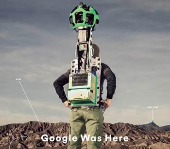 google mapping trekker camera