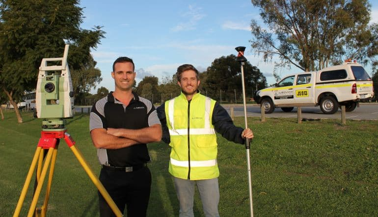 land surveying in perth