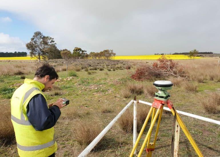 surveying in ravensthorpe wa